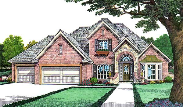 Traditional House Plan 66144 Elevation