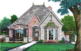 House Plan 66145 Elevation
