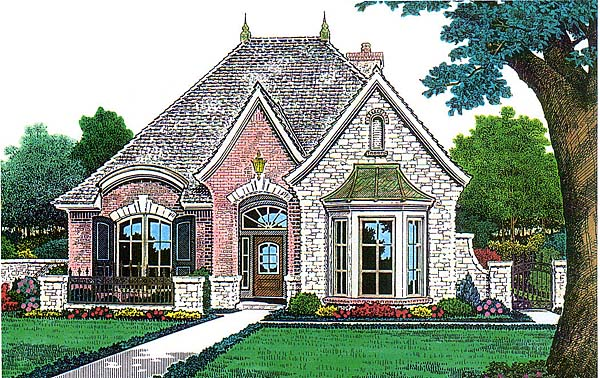 House Plan 66145 Elevation