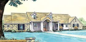 House Plan 66148 Elevation