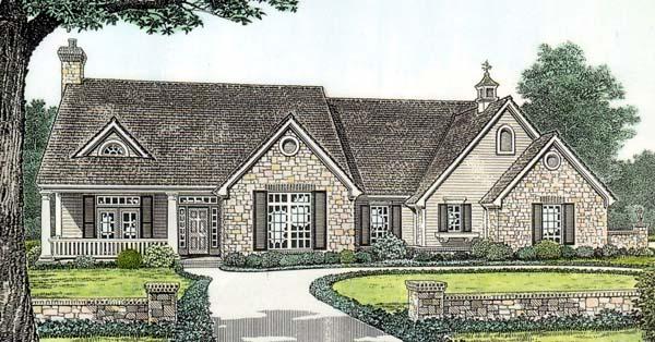 House Plan 66149 Elevation