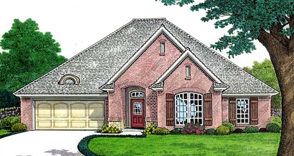 House Plan 66151 Elevation