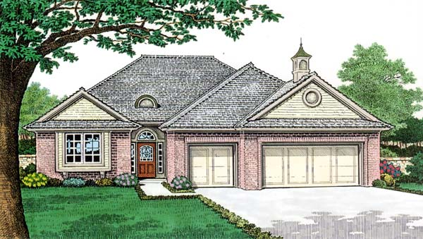 House Plan 66154 Elevation