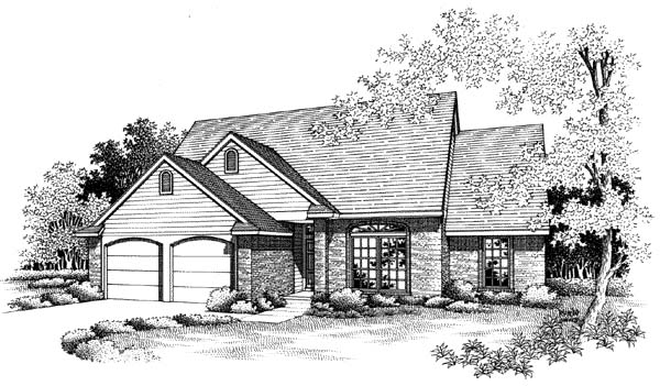 Traditional House Plan 66163 Elevation
