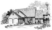 Plan Number 66163 - 1752 Square Feet