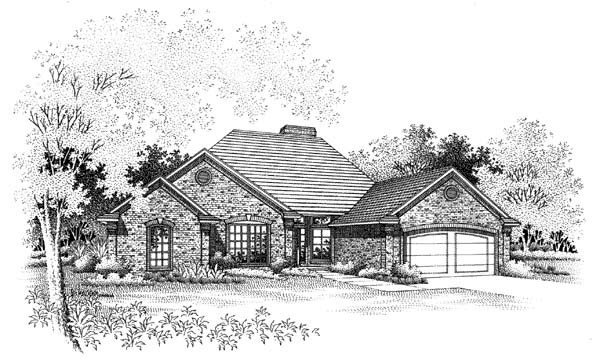 Traditional House Plan 66164 Elevation