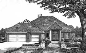 House Plan 66184 | Traditional Style Plan with 2350 Sq Ft, 3 Car Garage Elevation