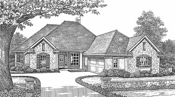Traditional House Plan 66187 Elevation