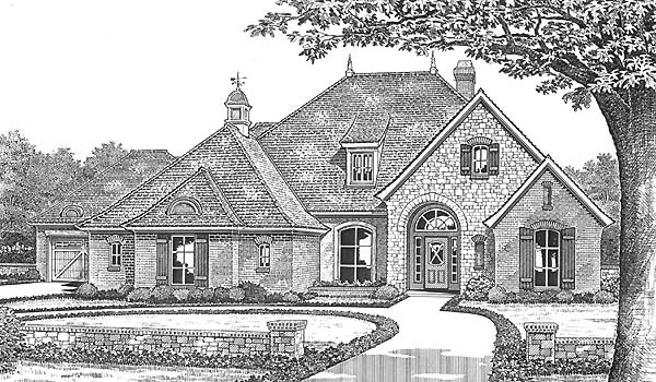 Traditional House Plan 66188 Elevation