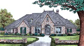 Traditional House Plan 66190 Elevation