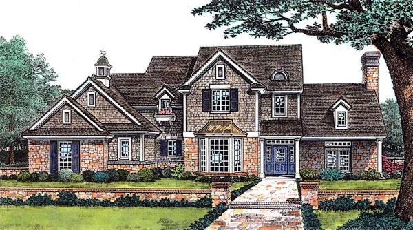 Craftsman House Plan 66191 Elevation