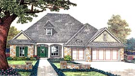 Traditional House Plan 66192 Elevation