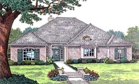 Traditional House Plan 66194 Elevation