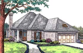 Traditional House Plan 66196 Elevation