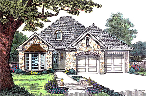 Traditional House Plan 66197 Elevation