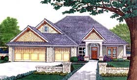 House Plan 66199 Elevation