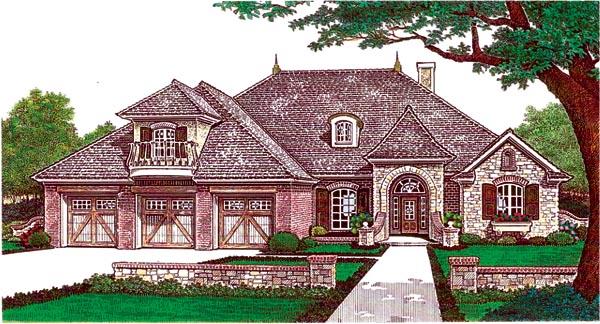 House Plan 66203 Elevation
