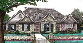 House Plan 66205 Elevation