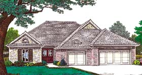 Traditional House Plan 66207 Elevation