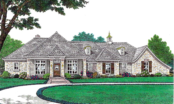 Traditional House Plan 66210 Elevation