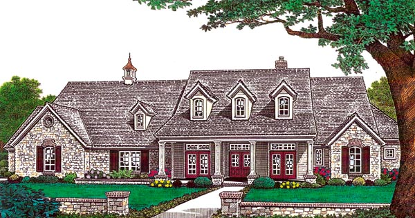 Southern House Plan 66214 Elevation
