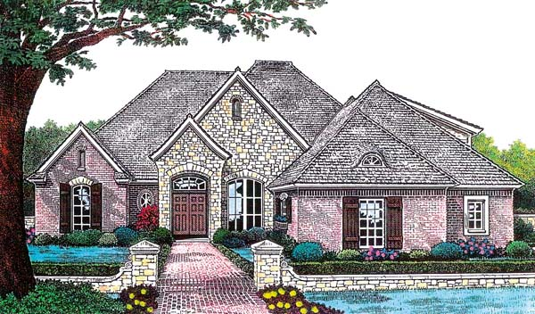 House Plan 66216 Elevation