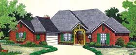 House Plan 66218 Elevation