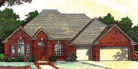 House Plan 66220 Elevation