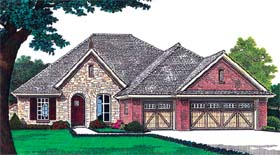 House Plan 66221 Elevation