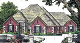 French Country House Plan 66227 Elevation