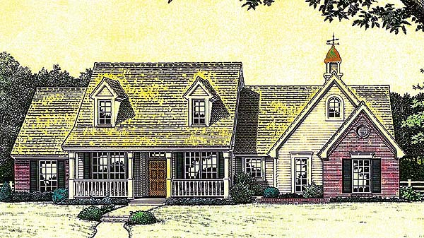 House Plan 66228 Elevation