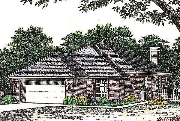 House Plan 66231