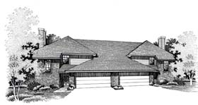 House Plan 66232 | Style Plan with 2800 Sq Ft, 3 Bedrooms, 3 Bathrooms, 3 Car Garage Elevation