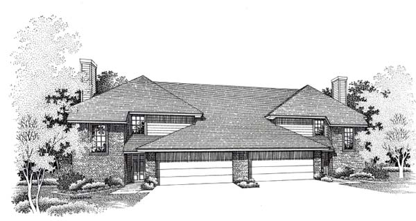 House Plan 66232 Elevation