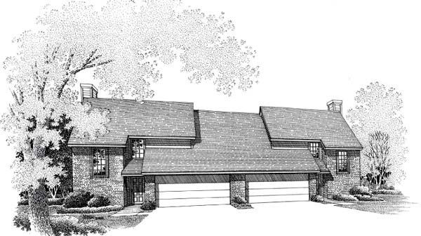 House Plan 66233 Elevation