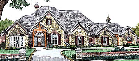 Southern House Plan 66234 Elevation