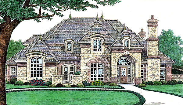 Country French Country Southern House Plan 66238 Elevation