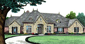 Southern House Plan 66240 Elevation