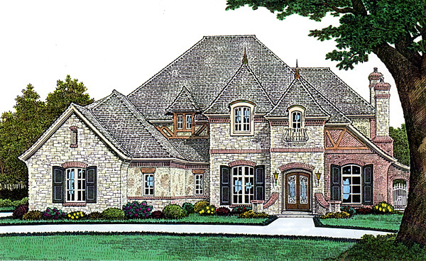 French Country Southern House Plan 66242 Elevation