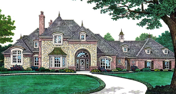 French Country Southern House Plan 66250 Elevation