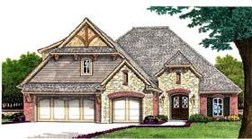 Tudor House Plan 66261 Elevation