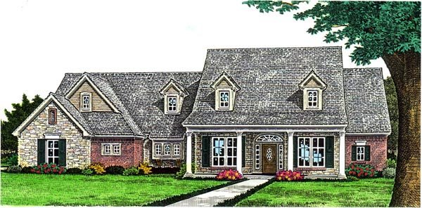 Farmhouse House Plan 66285 Elevation