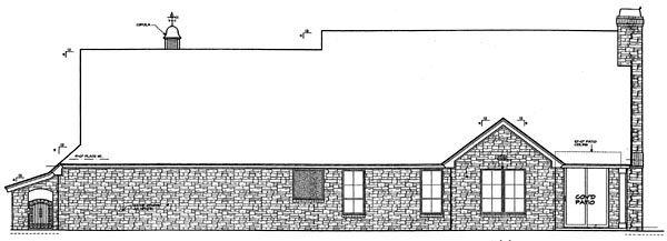 Country Farmhouse House Plan 66288 Rear Elevation