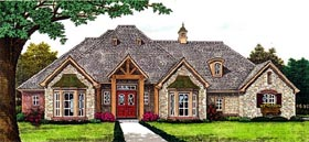 Country European House Plan 66289 Elevation