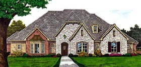 Country European House Plan 66290 Elevation