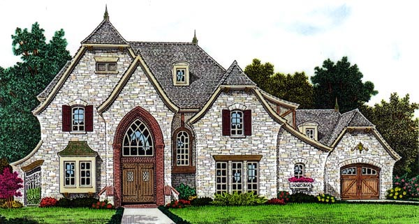 Country European House Plan 66292 Elevation