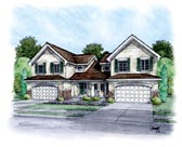 Plan Number 66402 - 4004 Square Feet