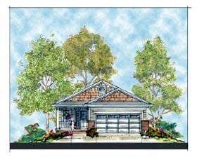 Traditional House Plan 66406 Elevation