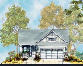 Craftsman House Plan 66407 Elevation