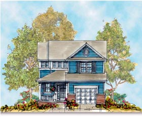 Country House Plan 66408 Elevation